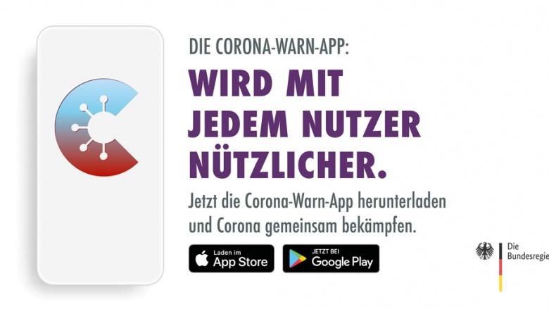 Corona-Warn-App - Wird mit jedem Nutzer nützlicher.