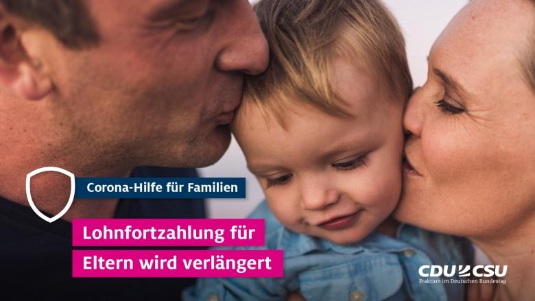 Corona-Hilfe für Familien