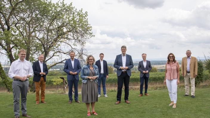 Die rheinland-pfälzischen CDU-Bundestagsabgeordneten bei der CDU-Klausurtagung am 17. August 2020 in Mainz