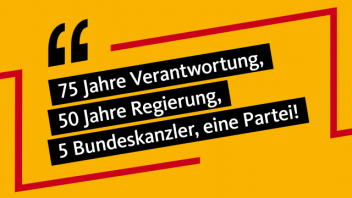 75 Jahre CDU 75-50-5-1