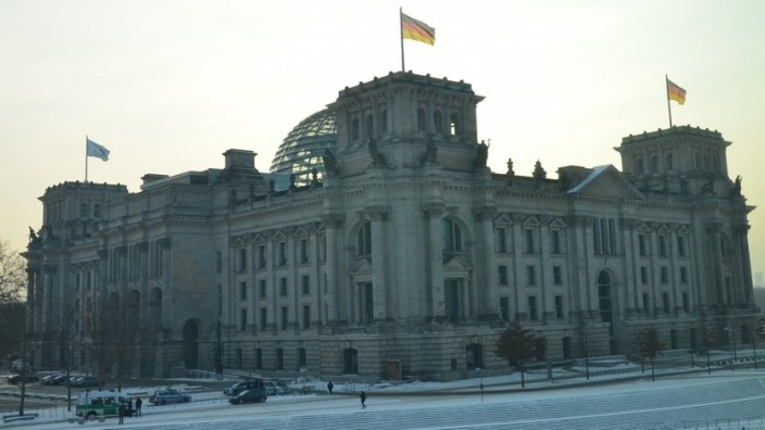 Berlin Deutscher Bundestag