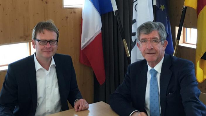 Dr. Thomas Gebhart (l.) und Frédéric Reiss (r.)