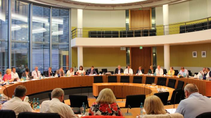 Gemeinsame Sitzung mit der CDU-Landtagsfraktion