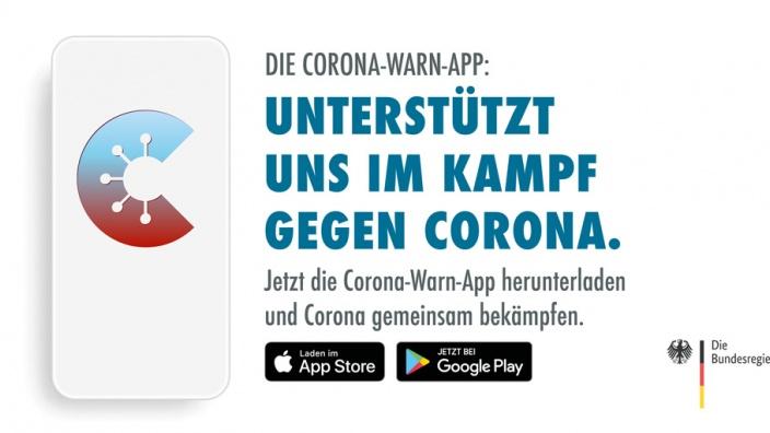 Die Corona-App - Unterstützt uns im Kampf gegen Corona