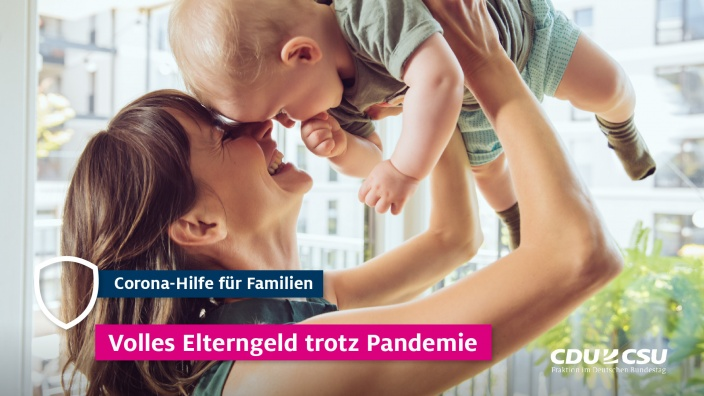 Vollen Elterngeld trotz Pandemie