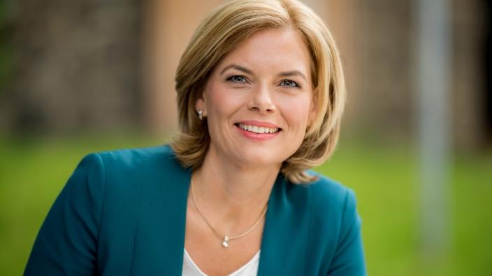 Bundesministerin für Ernährung und Landwirtschaft Julia Klöckner