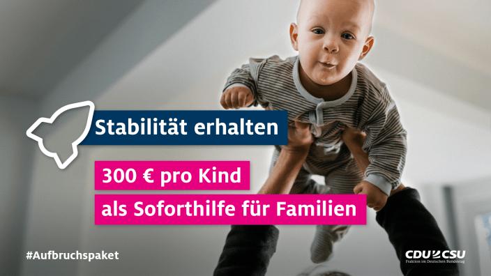 300 Euro Kinderbonus